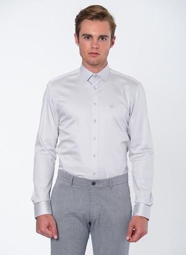 Beymen Business Klasik Uzun Kollu Gömlek Gri